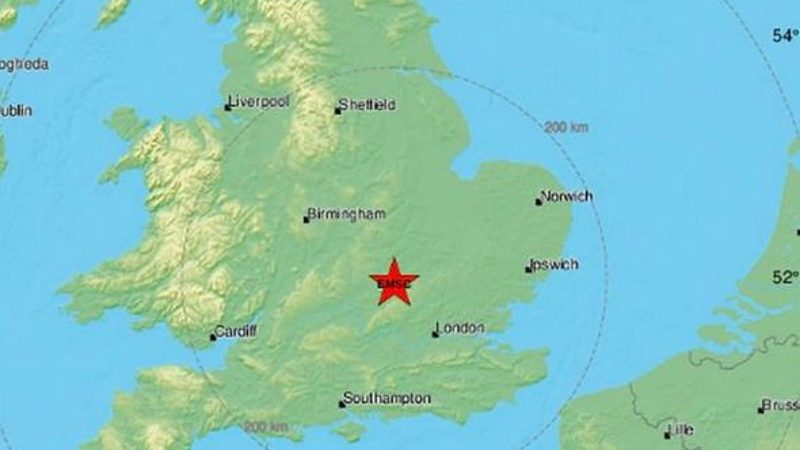 Terremoto Londra: paura a Leighton Buzzard