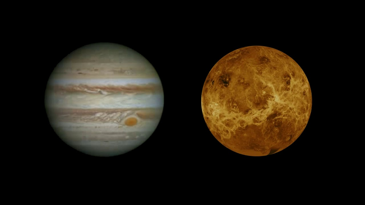 Temperature infernali su Venere? Colpa anche di Giove