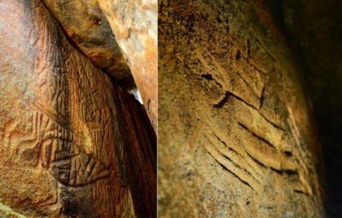 """Scoperte misteriose incisioni nella """"montagna degli alieni"""": antico codice astronomico?"""
