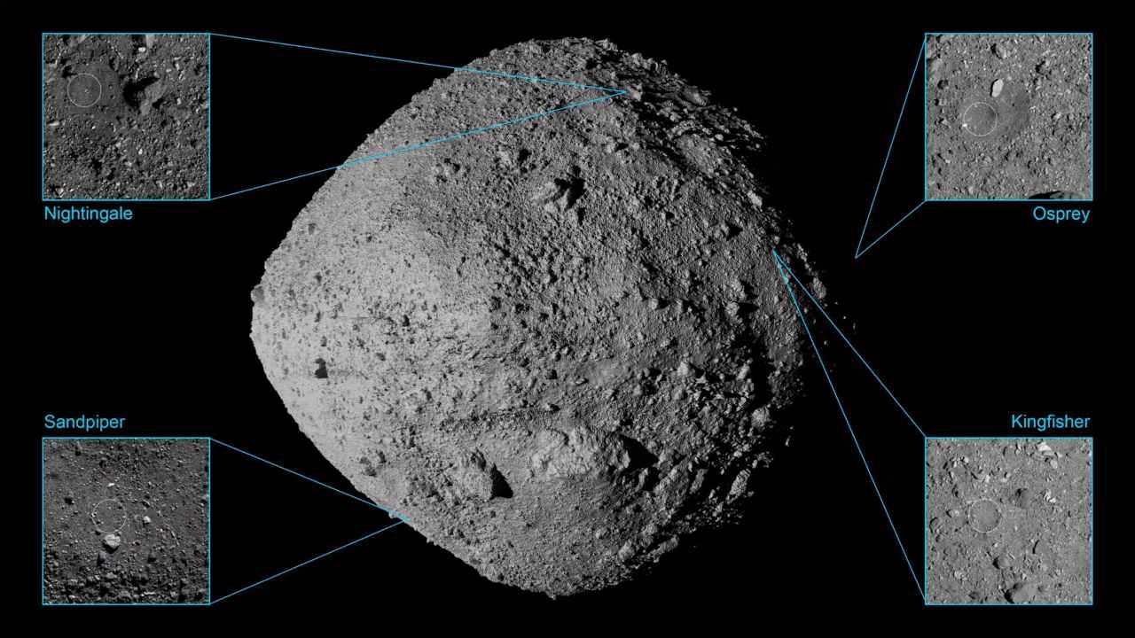 Antichi fiumi su un asteroide. La scoperta della NASA