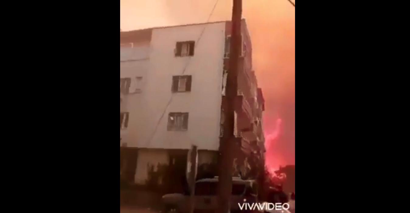 Incendi in Medio Oriente: le fiamme raggiungono le città. Esplodono le mine ai confini