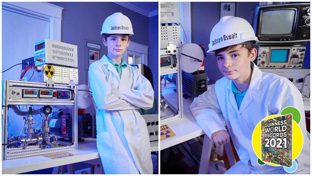 USA: a dodici anni realizza un reattore a fusione in casa. É record
