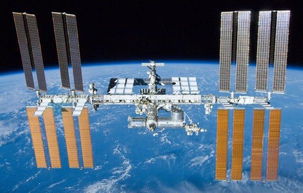 Una perdita d'aria individuata nella Stazione Spaziale Internazionale