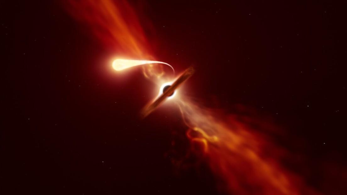 Spazio: osservata la spaghettificazione' di una stella. Il video