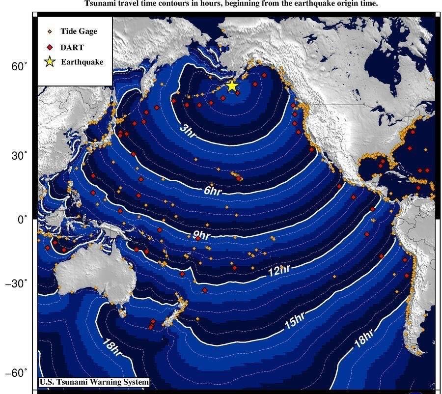 Terremoto Alaska: scossa di 7.3 gradi e tsunami su Sand Point