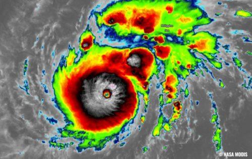 Filippine: il super tifone Goni si avvicina a Luzon. É il più potente del Pacifico