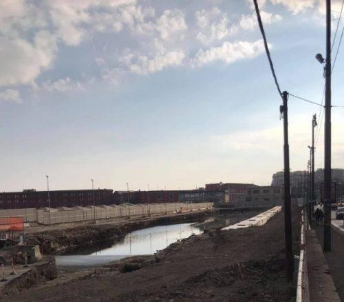 Napoli: riemerge l'acqua sulfurea del fiume Beverello