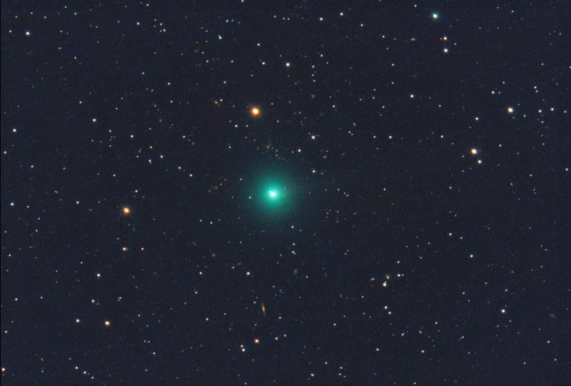 Spazio: dopo 2.500 la cometa S3 Erasmus torna a splendere nel cielo notturno