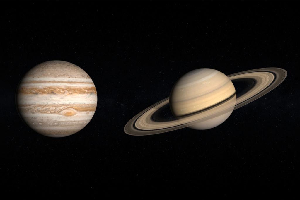 Congiunzione Giove Saturno: i due pianeti mai così vicini dal 1226