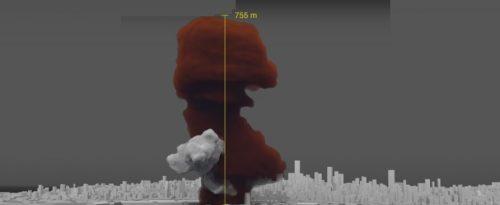 La ricostruzione 3D dell'esplosione di Beirut ne rivela il punto esatto e la causa. Il video