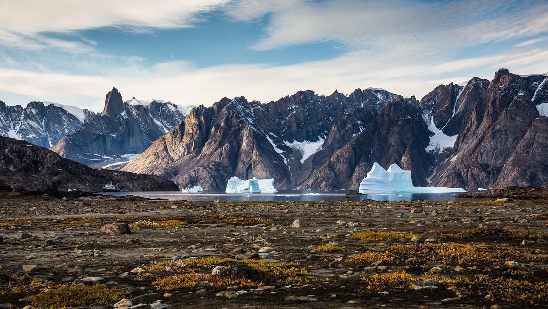 Un gigantesco fiume nelle profondità della Groenlandia