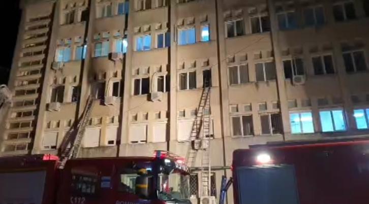 Romania: incendio distrugge terapia intensiva COVID. Sette pazienti morti