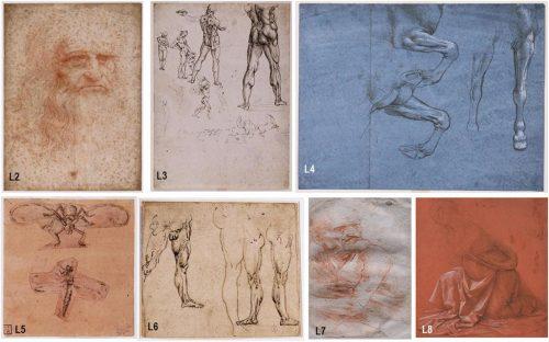Un sorprendente mix di batteri, funghi e DNA su alcuni disegni di Leonardo Da Vinci