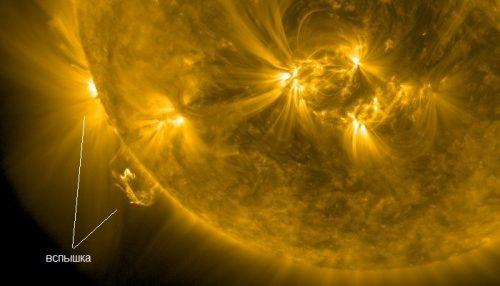 Spazio: registrata la più potente eruzione solare negli ultimi 3 anni