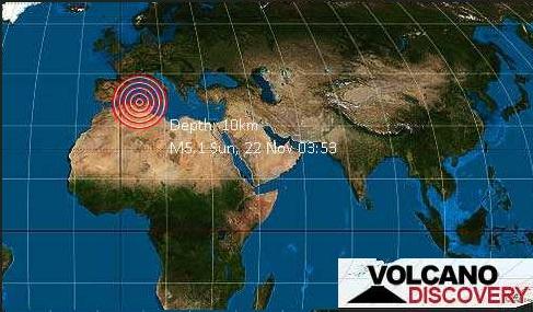 Terremoto in Algeria: boati e tremori nel nord del paese