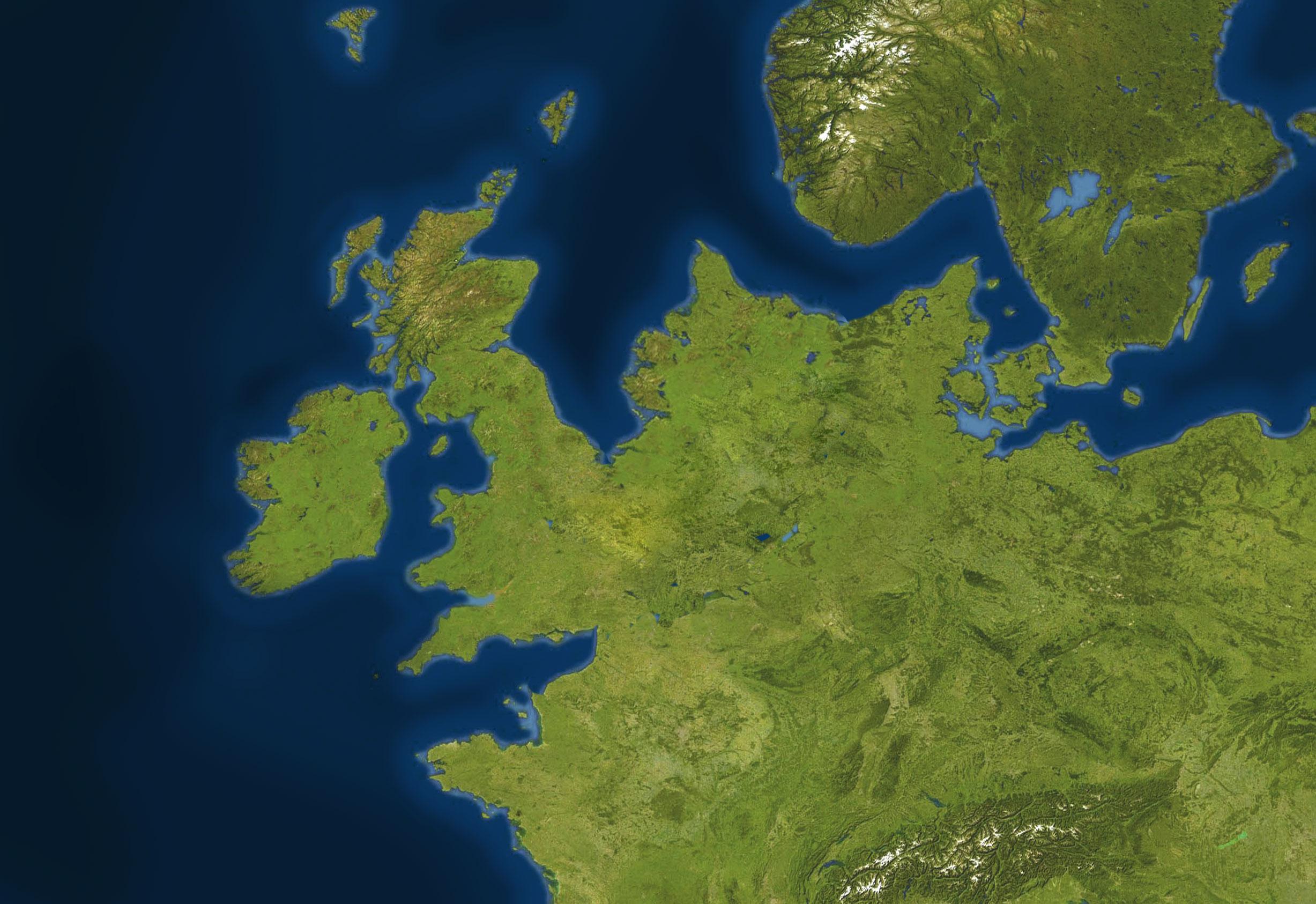 Doggerland: la terra misteriosa che univa Gran Bretagna ed Europa sommersa da uno gigantesco tsunami
