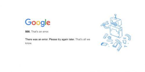 Google, YouTube e Gmail down, tutti i servizi inaccessibili: cosa è successo?