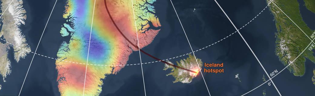 Pennacchio di roccia fusa nelle profondità della Groenlandia sta accelerando scioglimento della calotta