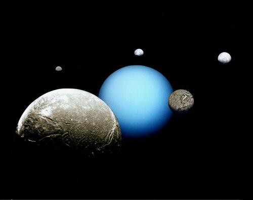 Acqua liquida nelle lune di Urano. La scoperta del MIT