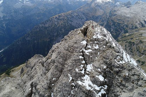 Alpi: il monte Hochvogel potrebbe crollare da un momento all'altro