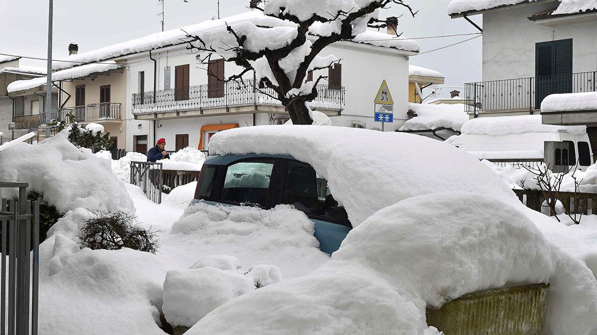 Maltempo: nevicate intense in arrivo in gran parte del Nord. Piogge intense al Sud