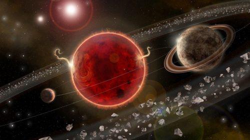 Proxima Centauri: un'emissione radio dalla stella più vicina