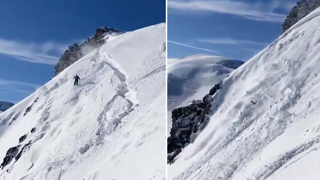 Spagna: sciatore fuoripista viene travolto da slavina. Il video