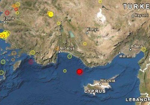 Terremoto: scossa tra Turchia e Cipro