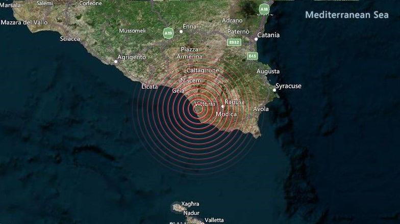 Terremoto Sicilia: gente in strada a Licata, Modica e Vittoria