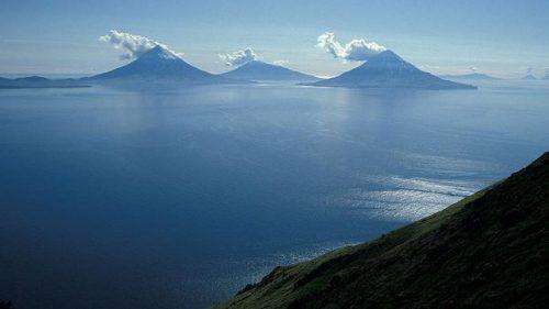 Alaska: scoperto un supervulcano sommerso nelle Isole Auletine