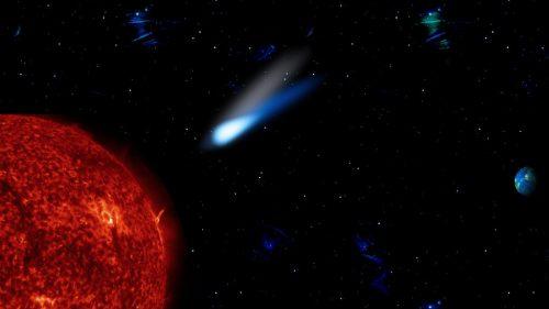 Spazio: due comete si precipitano nel Sole in soli 24 ore