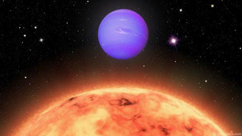 Spazio: scoperto pianeta 'nettuniano' con due stelle