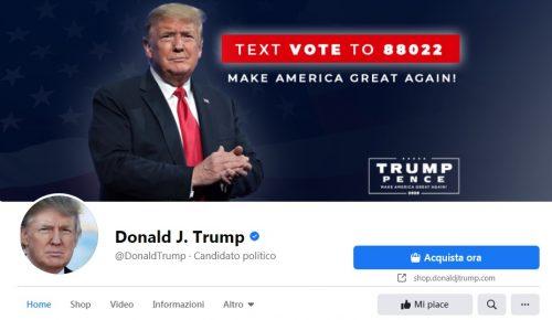 Zuckerberg blocca gli account di Trump a tempo indeterminato