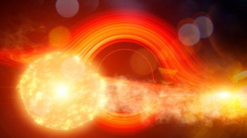 Spazio: una galassia emana un bagliore ogni 114 giorni