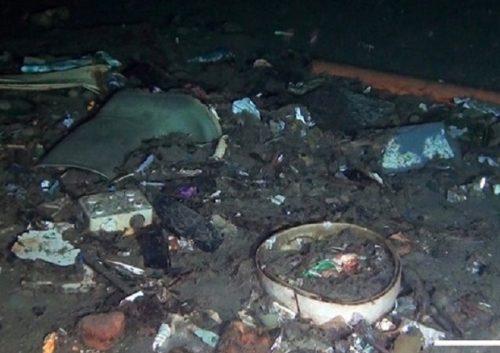 Ambiente: record mondiale di rifiuti sui fondali dello Stretto di Messina