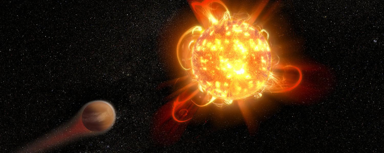 Spazio: un gigantesco 'superflare' da una stella minuscola