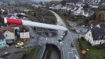 Lussemburgo: le immagini impressionanti di una pala eolica