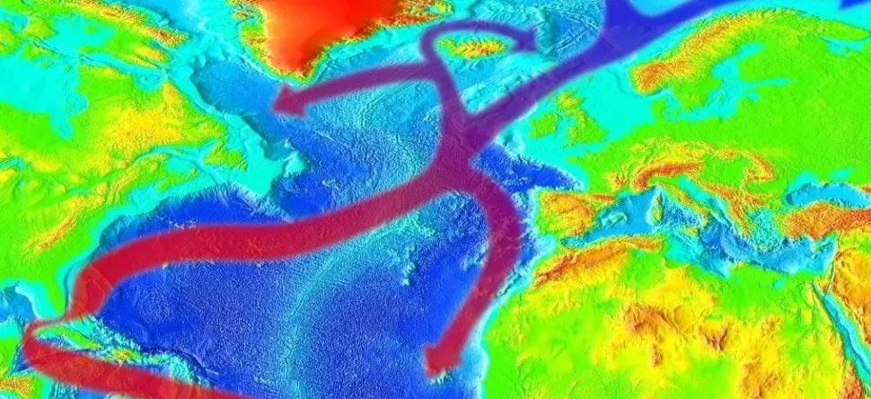 Capovolgimento Meridionale della Circolazione Atlantica ai minimi storici