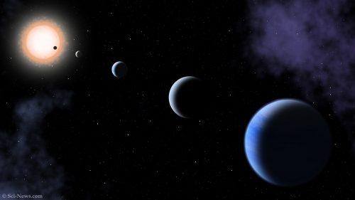 Spazio: cinque pianeti giganti intorno ad una stella 'gemella' del Sole