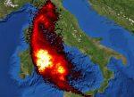 Etna: registrata impressionante emissione di anidride solforosa