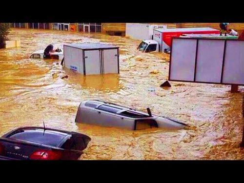 Germania: i fiumi rompono gli argini in Assia. Si teme per il Reno