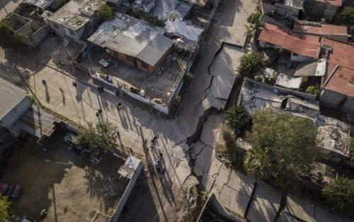 Sprofonda il terreno in Messico, 40 abitazioni distrutte a Tijuana
