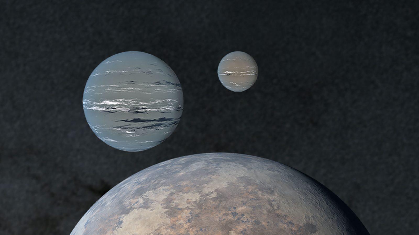"""Spazio: scoperti tre pianeti in un """"fiume di stelle"""""""