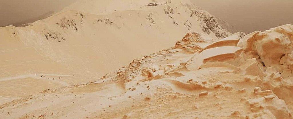 Scoperte sostanze radioattive nella sabbia del Sahara che ha ricoperto l'Europa