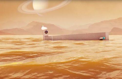 Titano: un sottomarino si immergerà nel Kraken Mare