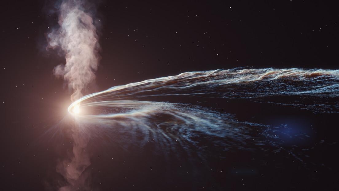 """Spazio: scoperta particella """"fantasma"""" da una stella distrutta da un buco nero"""