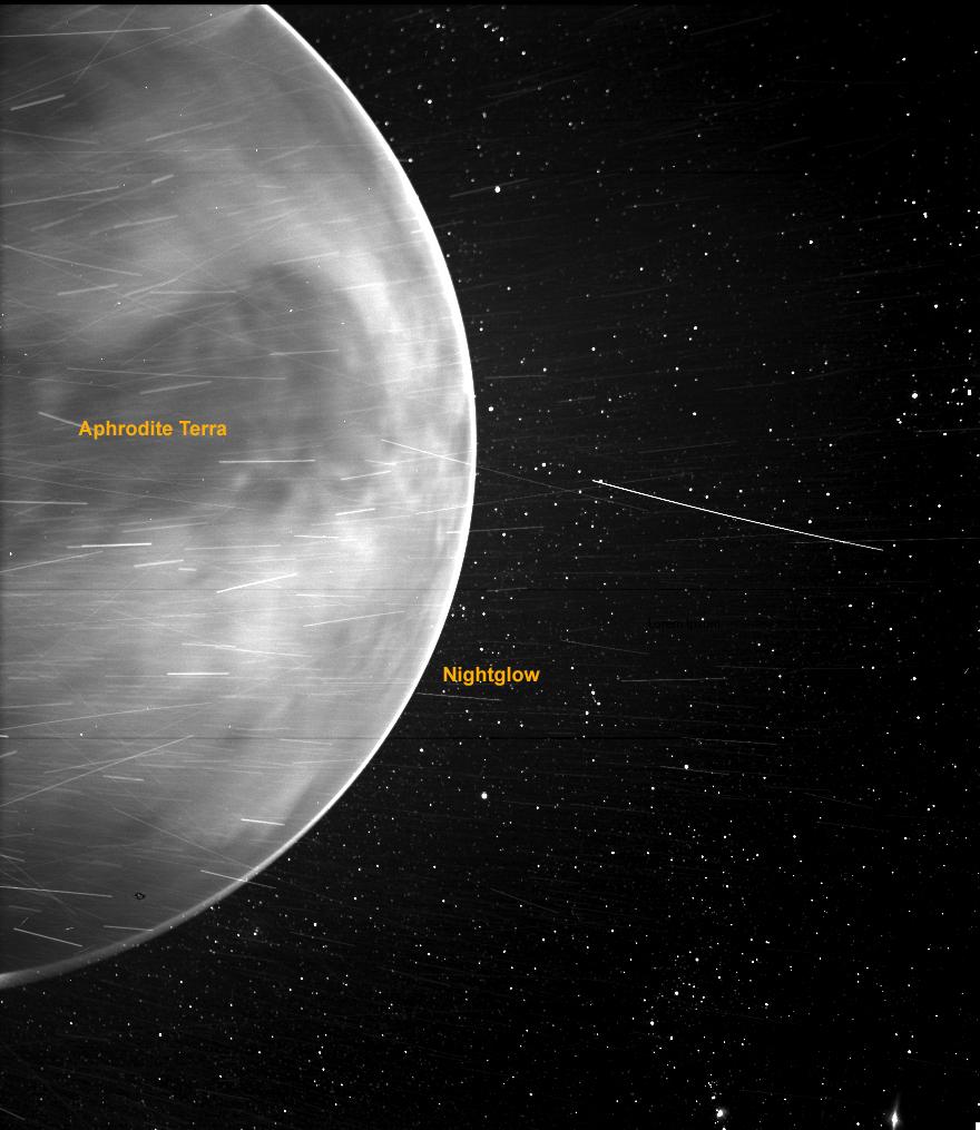 Spazio: il Solar Parker Solar Probe pubblica una foto sorprendente di Venere