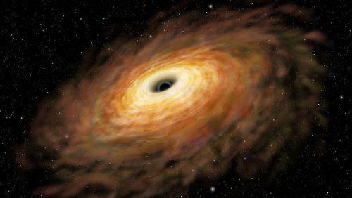Spazio: individuato un buco nero supermassiccio in movimento