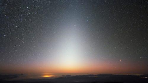 Spazio: la 'luce zodiacale' è prodotta dalla polvere marziana che arriva sulla Terra