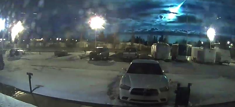 Il meteorite precipitato in Canada potrebbe contenere tracce di forme di vita extraterrestre